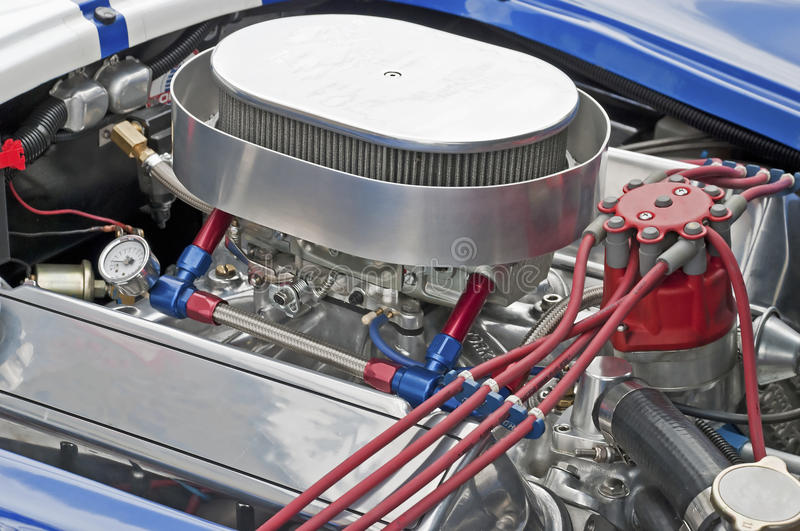 Download High Performance 429 Cu-in V8 Engine Stock Photo - Image of engine, horsepower: 15933776