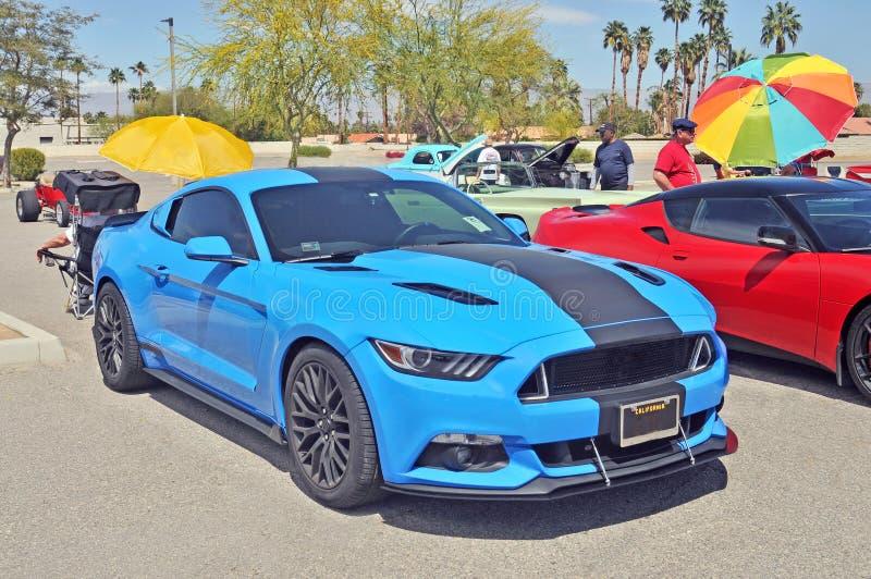 High Performance di modello recente Ford Mustang immagini stock libere da diritti