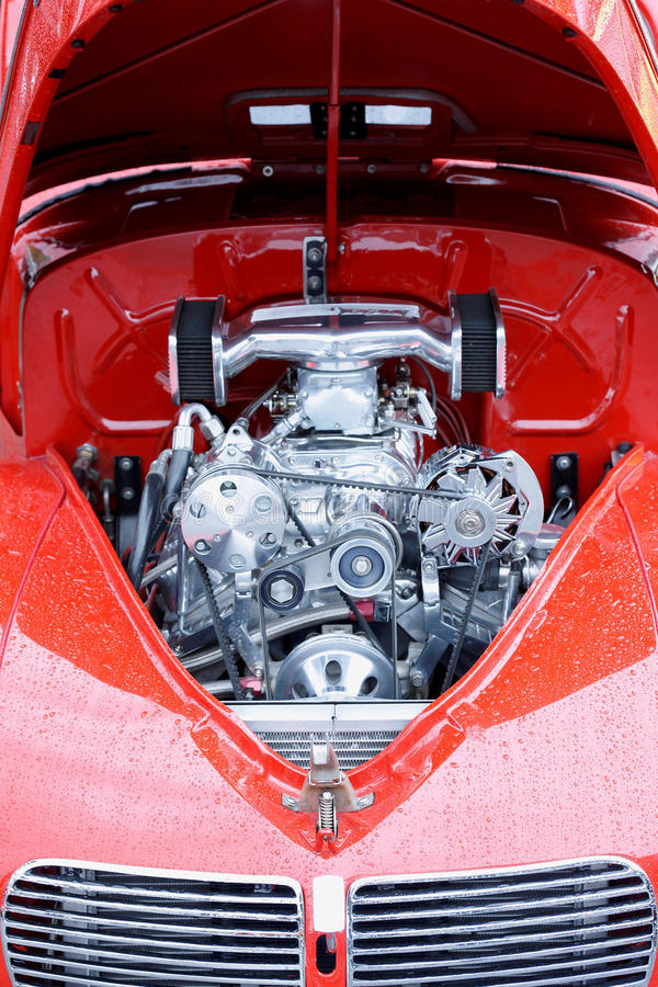 High Performance Engine stock photography