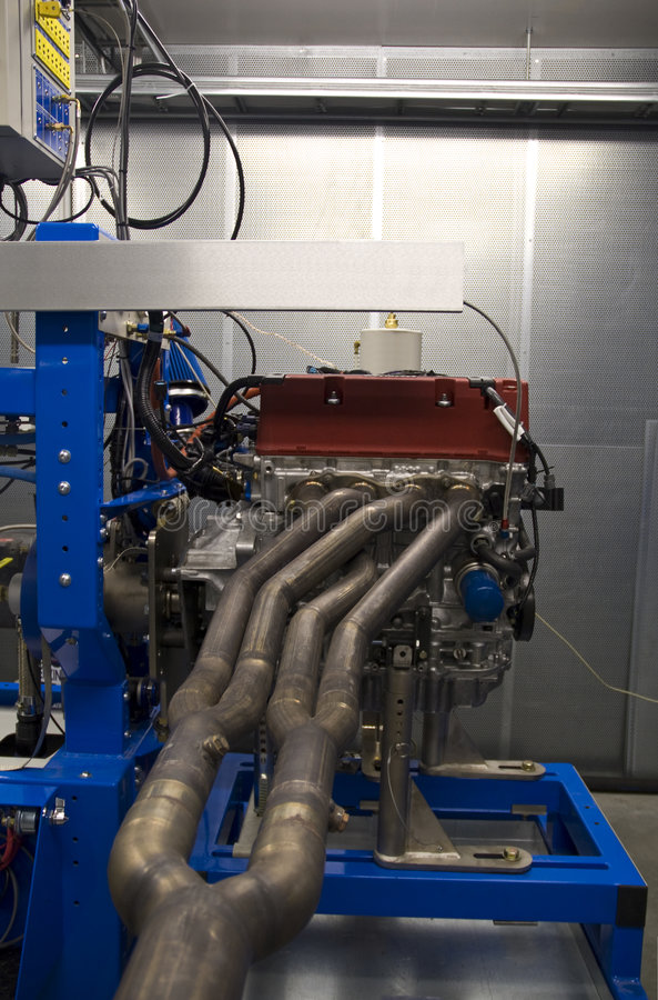 Download High Performance Engine Test Stock Image - Image: 7909367