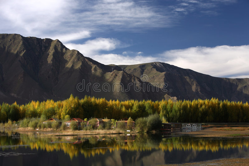 Download High Plateau Scenery In Tibet Stock Photo - Image: 9109828