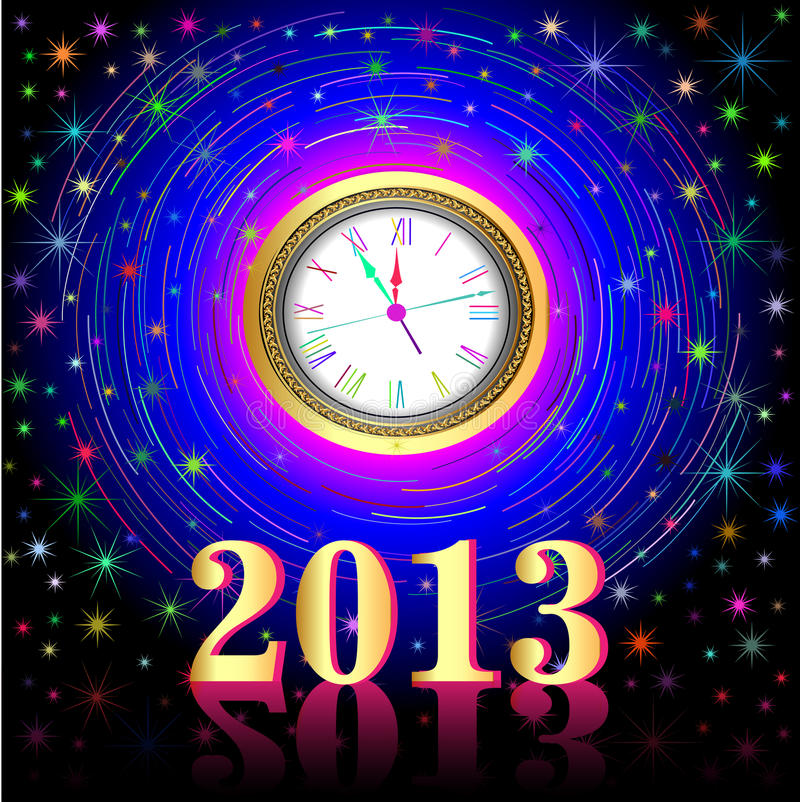 Download Of The High Points On The Eve Of 2013 Stock Vector - Image: 27459926