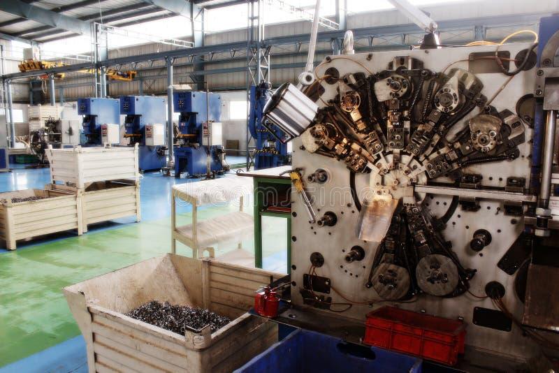 High Precision Automotive CNC machines Factory flo stock photos