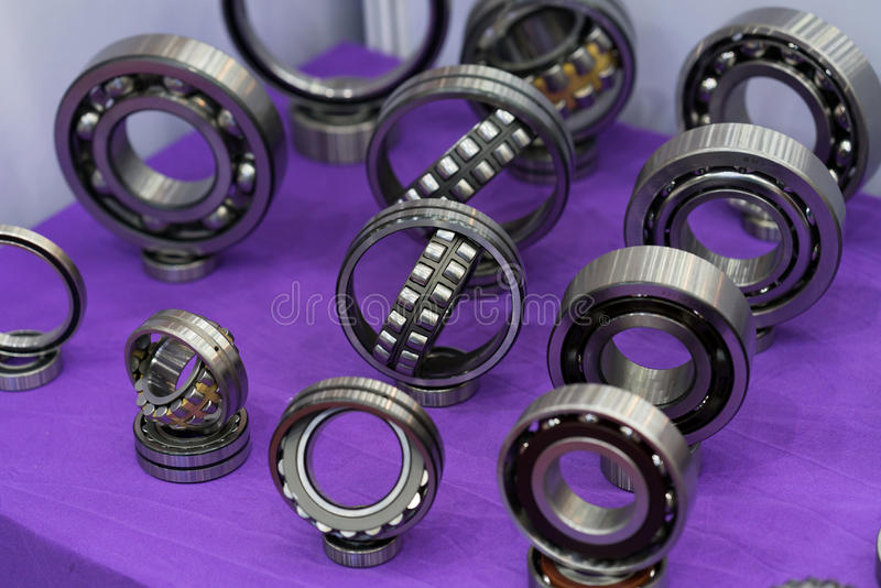 High precision bearing for automotive industrial royalty free stock image