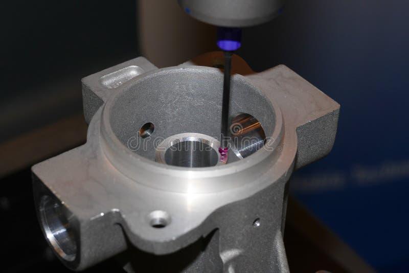Precision cmm. High precision cmm measurement method royalty free stock photo