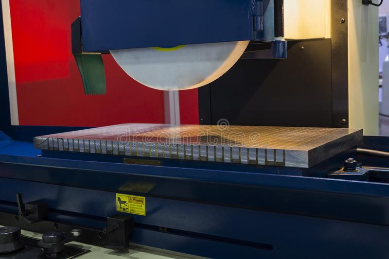 High Precision Horizontal grinding machine royalty free stock photography