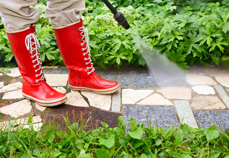 Download High pressure washing stock image. Image of mold, alley - 15745937