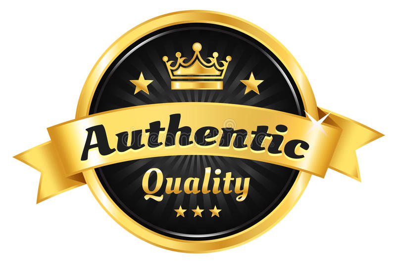 Download High Quality Golden Badge stock vector. Illustration of emblem - 33558775