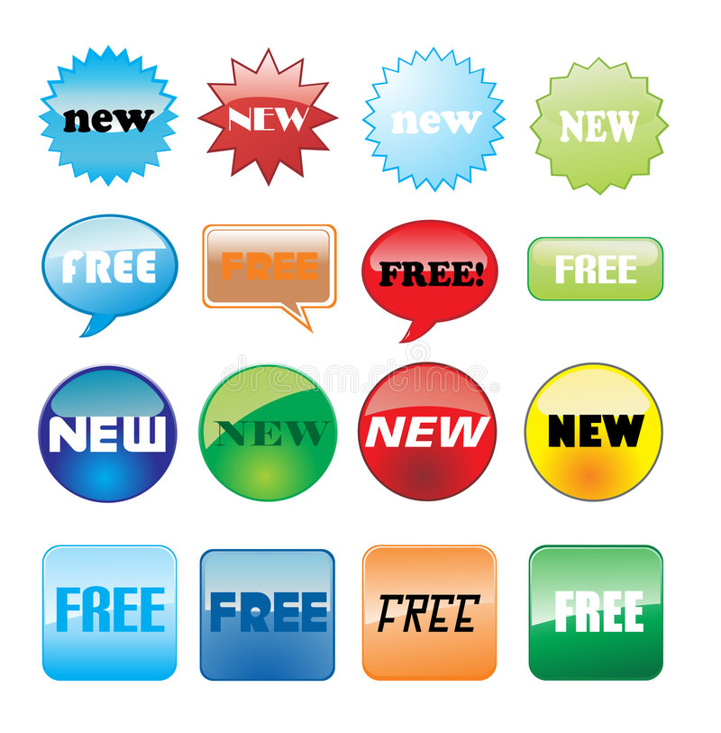Download High Quality Internet Icons Stock Vector - Image: 7433774