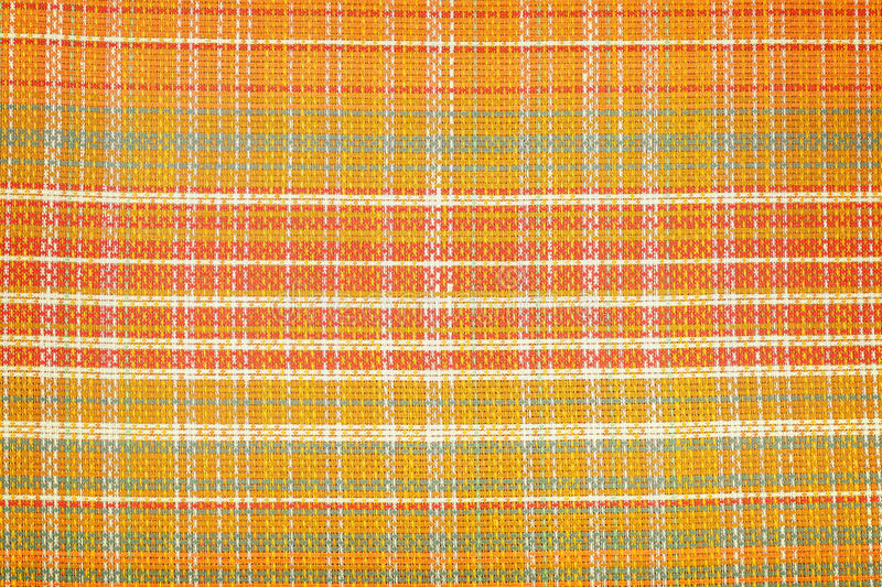 High quality linen in check pattern texture or background.  royalty free stock photos
