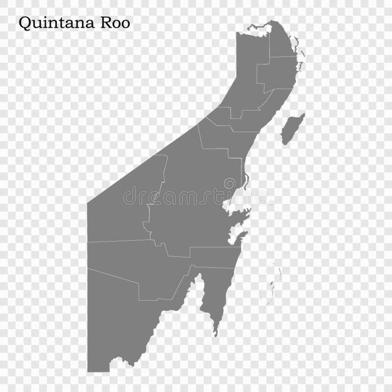 Free High Quality Map Is A State Of Mexico Royalty Free Stock Photos - 151067388