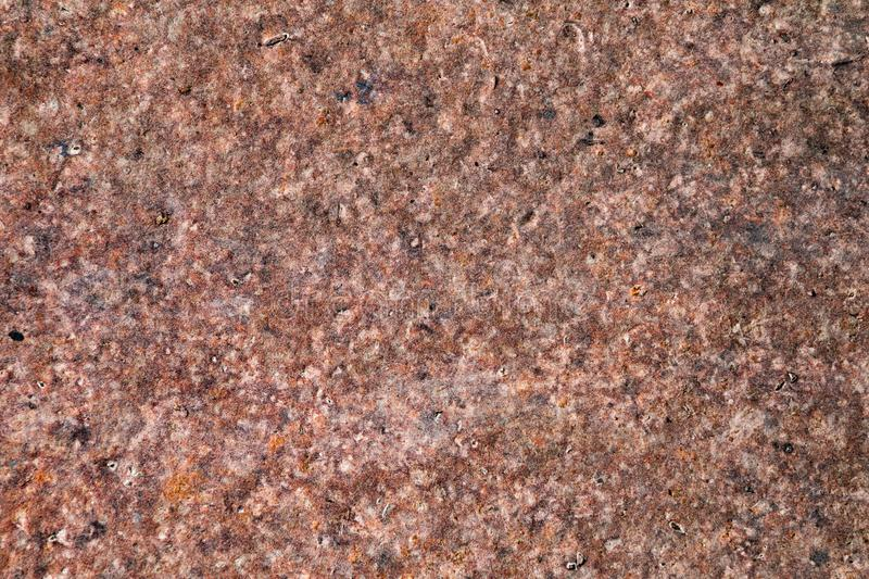 Red rusty aged grunge metal surface texture in poor condition royalty free stock photos