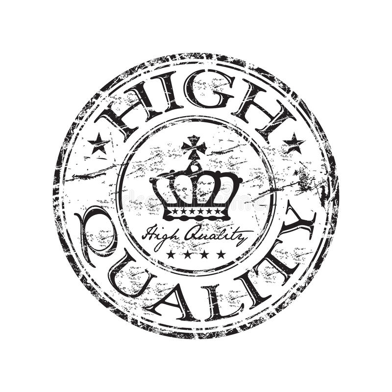 High quality rubber stamp royalty free stock photo