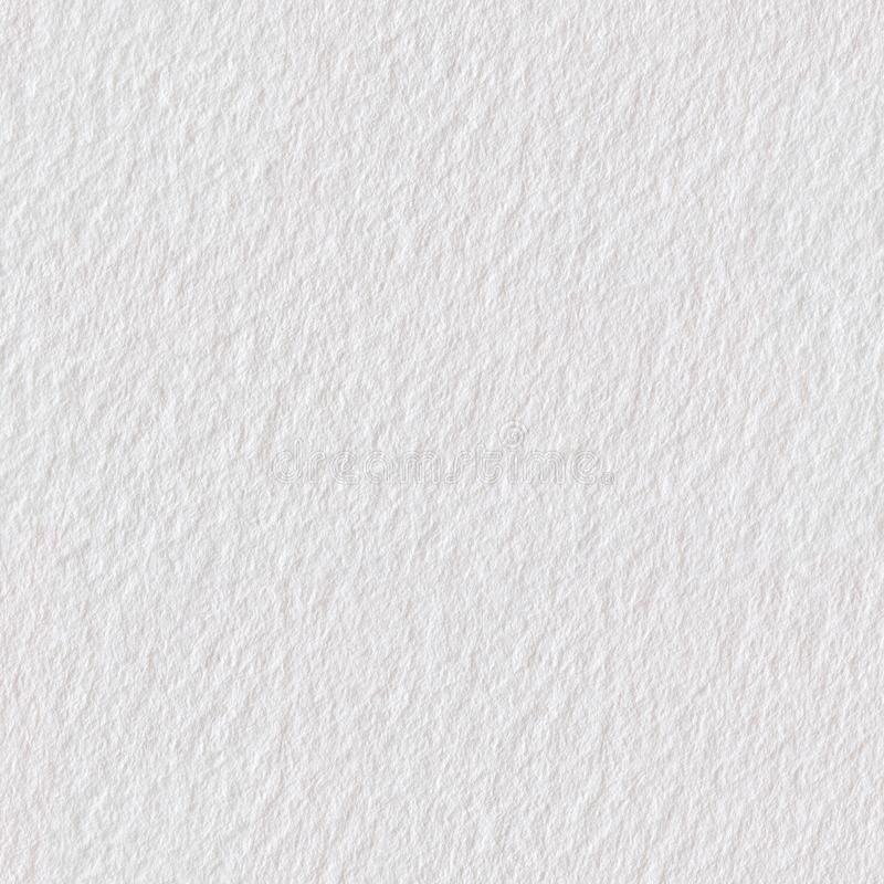 High quality white paper texture, background. Seamless square te royalty free stock images