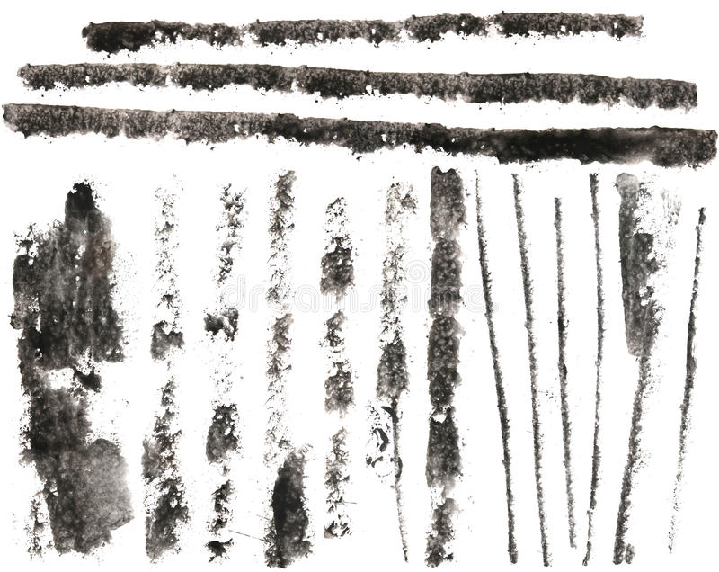 High-Res Grunge Streaks royalty free stock image