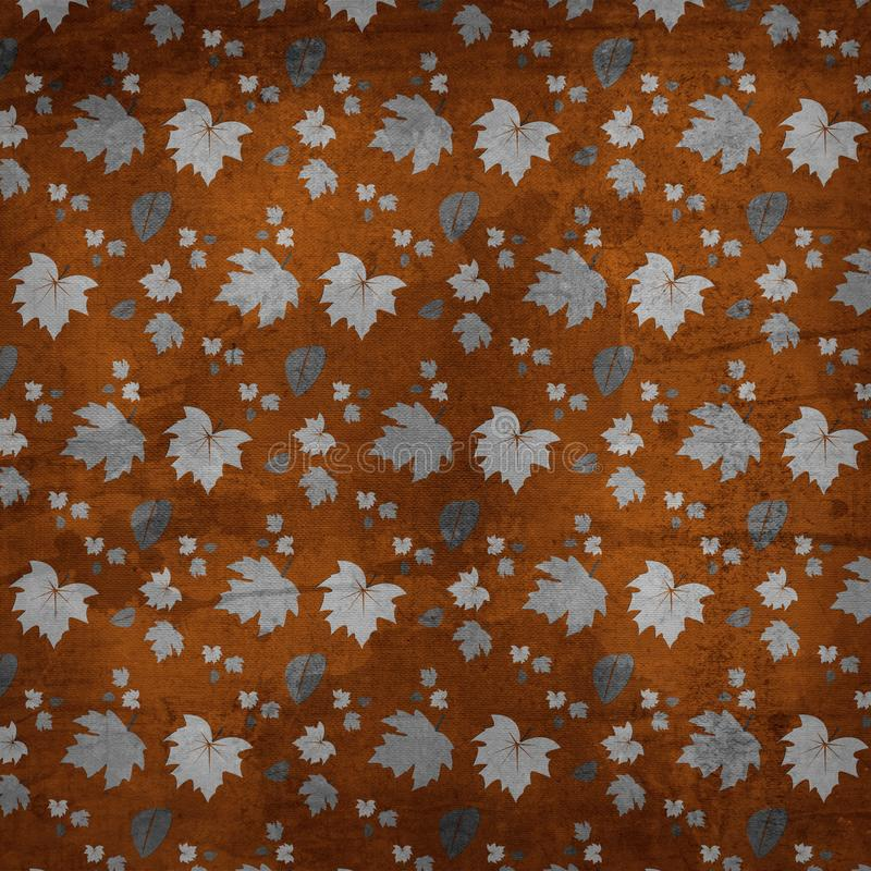 Autumn Leaves Texture Background stock image