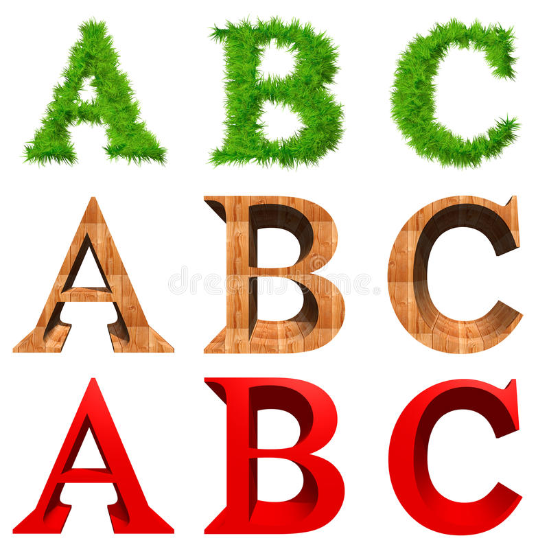 Download High Resolution 3D Fonts Isolated Stock Illustration - Image: 17795534