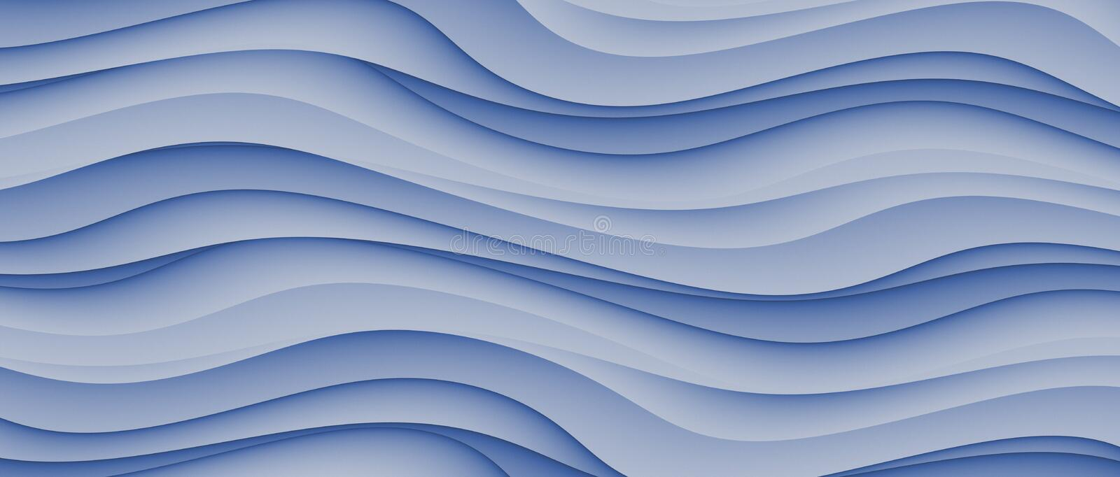 High Resolution Blue Abstract Waves Business Background Design vector illustration
