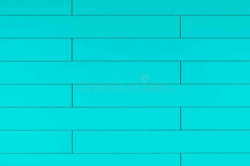 High resolution blue plastic wall background with brick form. Store siding stock image