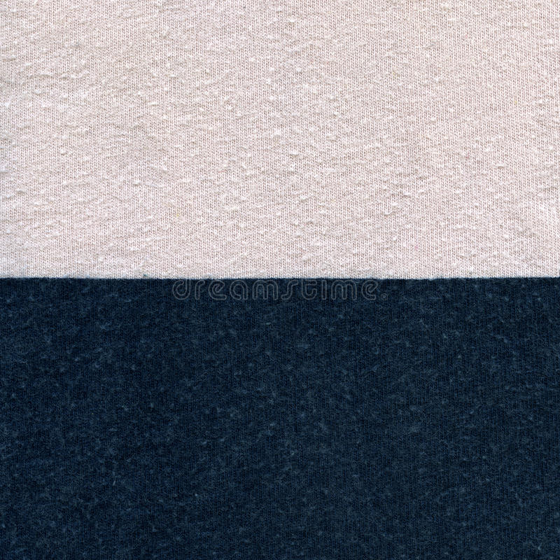 Cotton Fabric Texture - Pastel Pink & Navy Blue stock photography