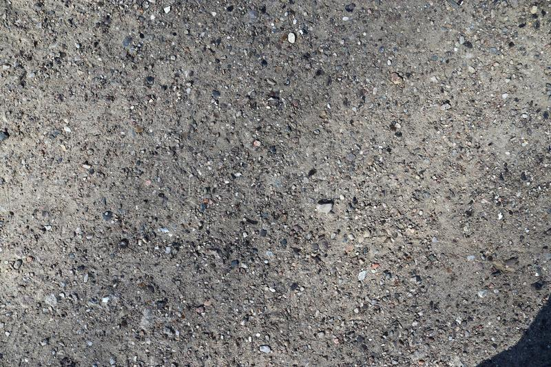 High resolution close up surface texture of gravel on the ground with high detail. Found in germany royalty free stock photos