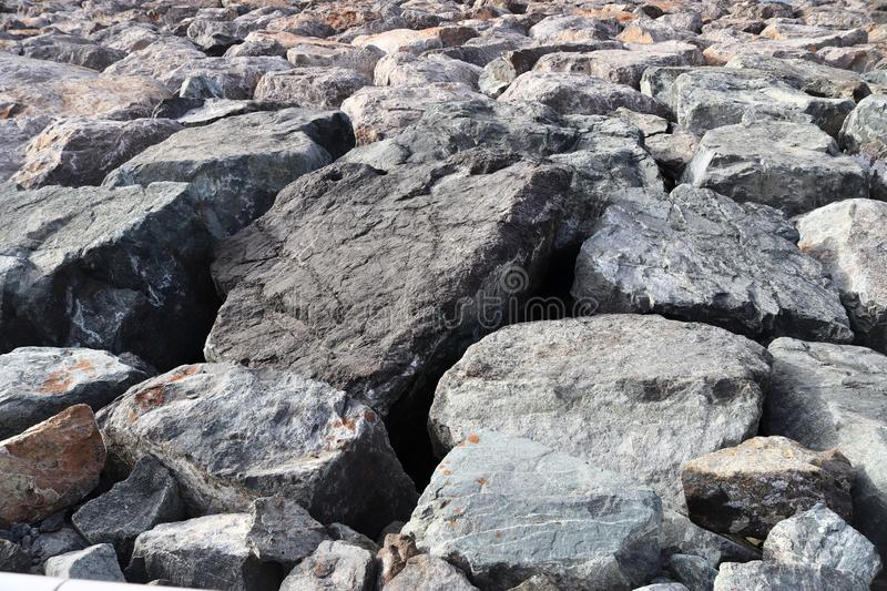 High resolution close up surface texture of gravel on the ground with high detail. Found in germany stock photos