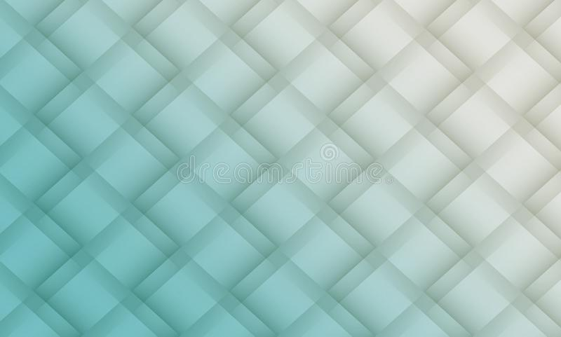 Pale blue and gray white diagonal geometric squares lattice abstract pattern background illustration vector illustration