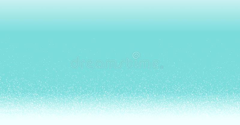 High resolution illustration white sparkle glitter gradient on blue background festive web Merry Christmas Happy New Year abstract royalty free stock photos