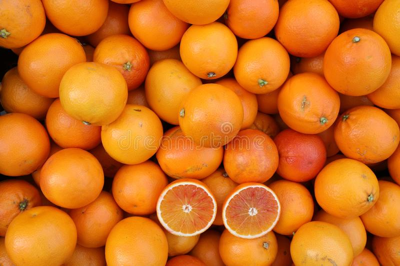 High Resolution 30 Mega Pixel of Oranges royalty free stock photography