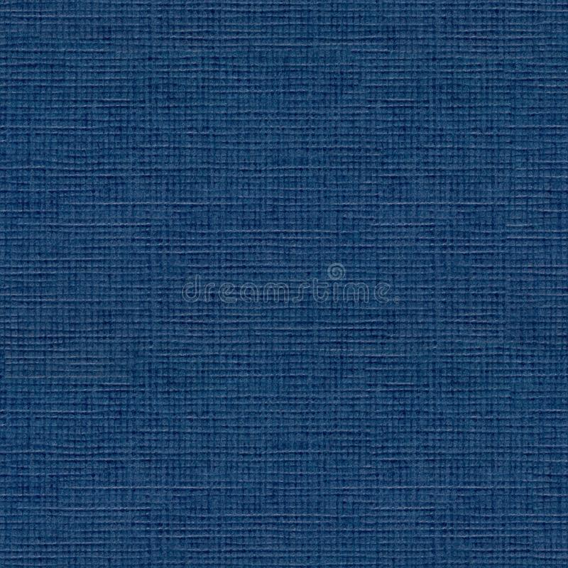 High resolution scan of midnight blue fiber paper. Seamless square background, tile ready. High quality texture in extremely high resolution stock image