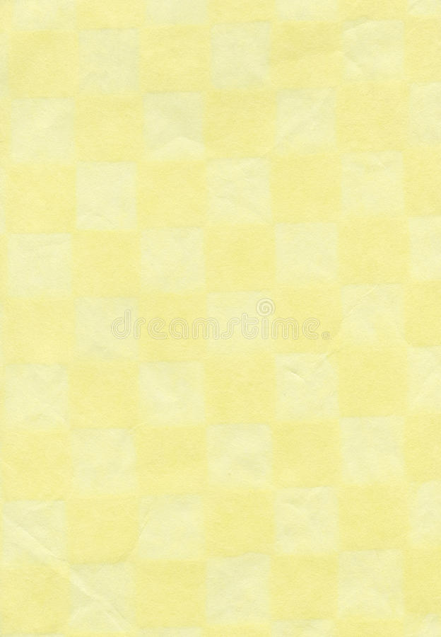 Rice Paper Texture - Checkered Beige XXXXL royalty free stock images