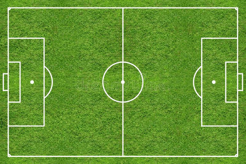 High Resolution Soccer Grass Field Stock Image Image