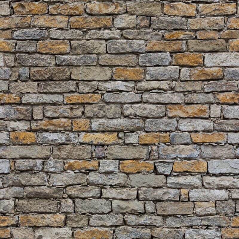 High resolution seamless texture of masonry royalty free stock photo