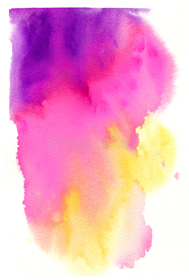 High Resolution Watercolor Background stock photo
