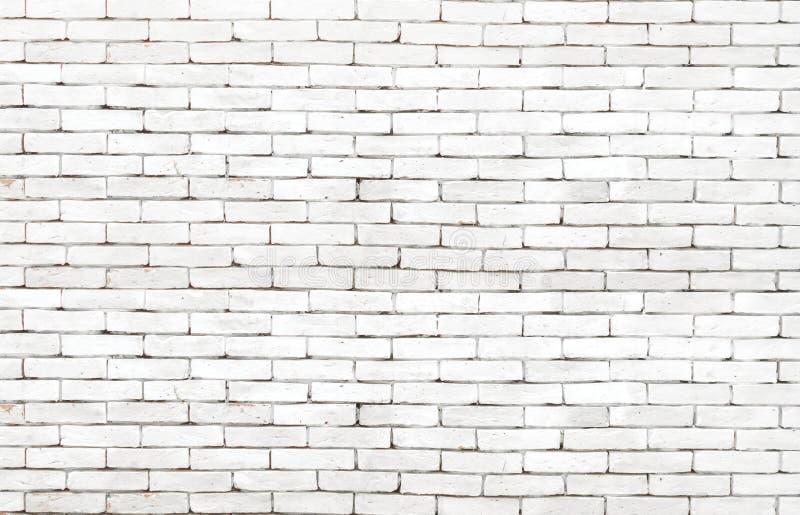 High resolution white grunge brick wall background royalty free stock photo