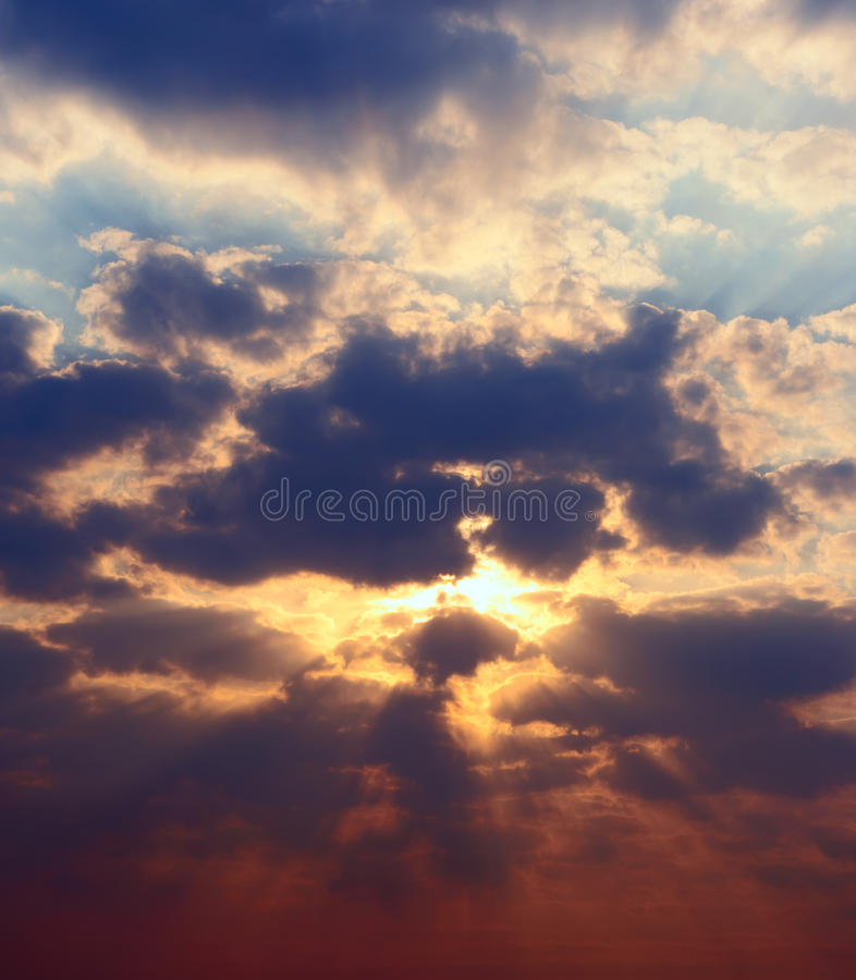 Download High Rez Picture Sunset Sky Stock Image - Image: 14075577