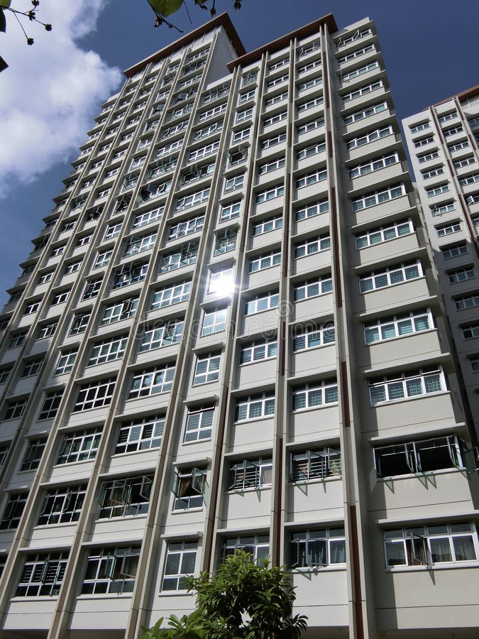 High Rise Apartments royalty free stock images