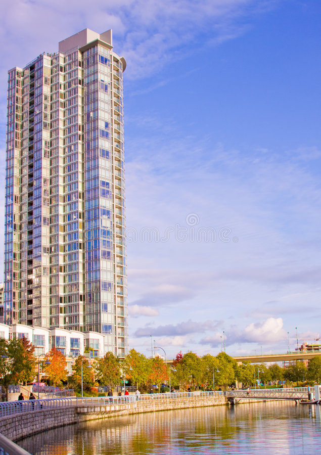 Download High rise beach tower stock image. Image of accomodation - 7174649