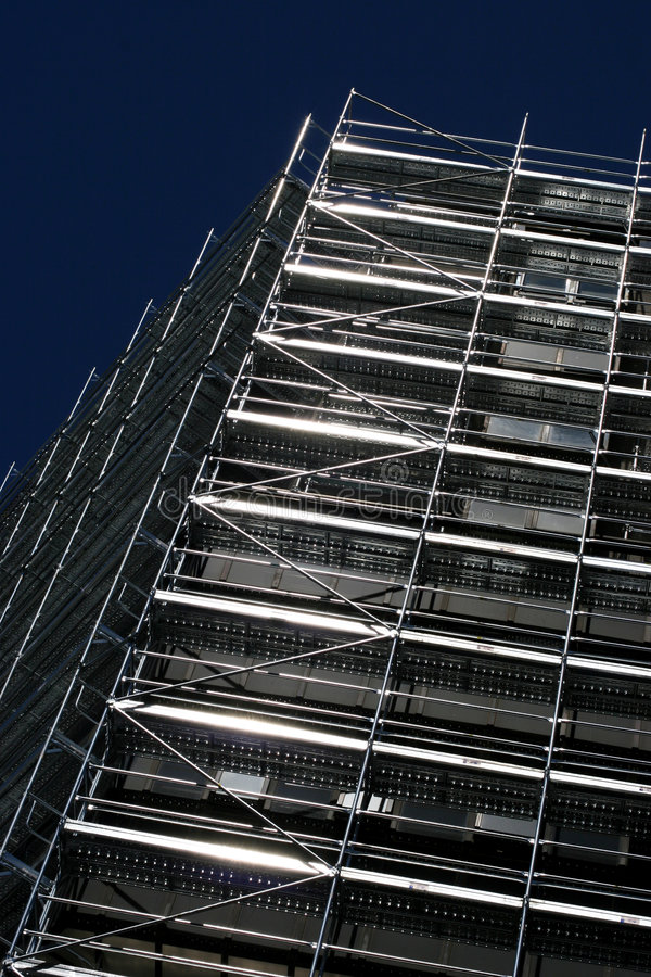 High Rise Being Built Royalty Free Stock Photos