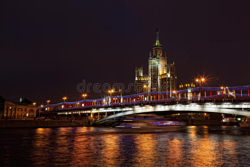 High-rise building on Kotelnicheskaya Embankment i stock photography
