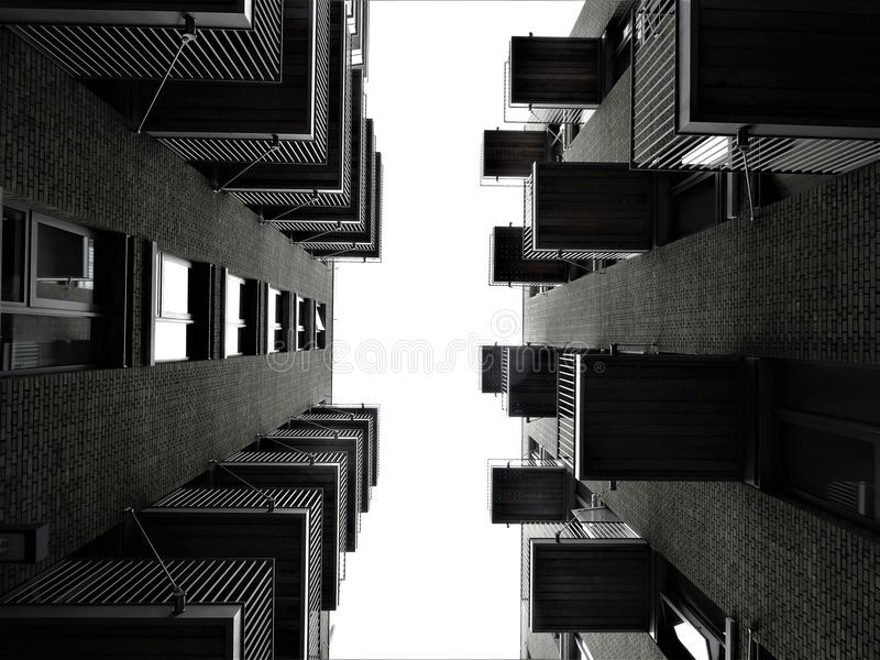 High-rise Building in Low Angle Photography royalty free stock photos