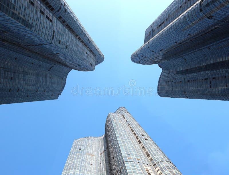 High rise Building in Marine city, Haeundae, Busan, South Korea, Asia royalty free stock photo