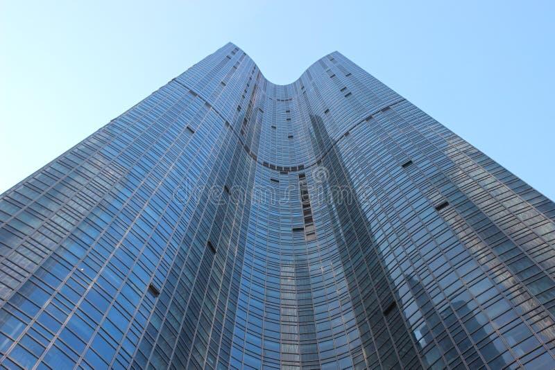 High rise Building in Marine city, Haeundae, Busan, South Korea, Asia royalty free stock photos