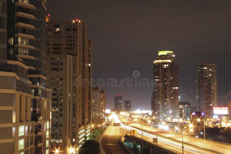 High Rise Building During Night Time Free Public Domain Cc0 Image