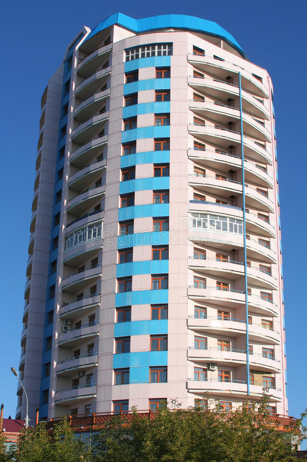 High-rise building round
