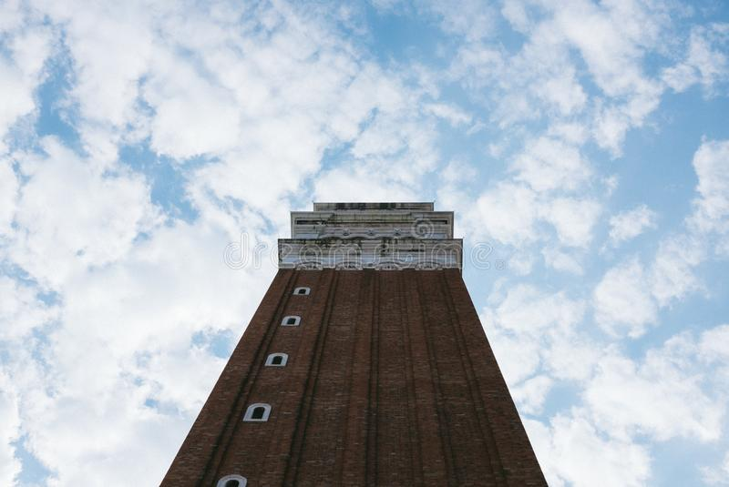 High Rise Building Under White Clouds And Blue Sky In Low Angle Photography Free Public Domain Cc0 Image
