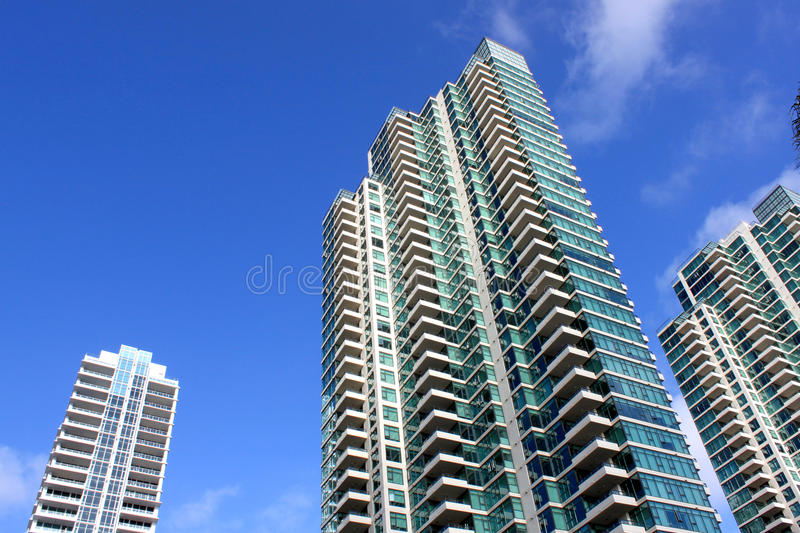 High rise buildings royalty free stock photography