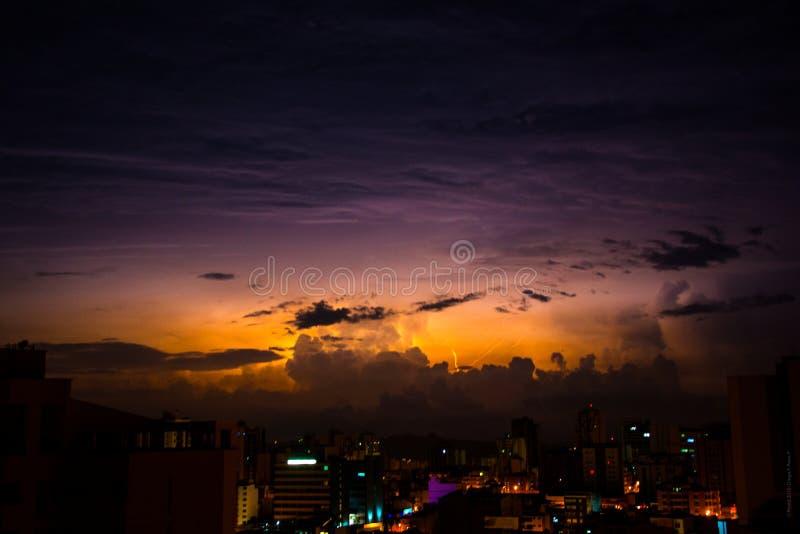 High Rise Buildings Under Nimbus Clouds Free Public Domain Cc0 Image