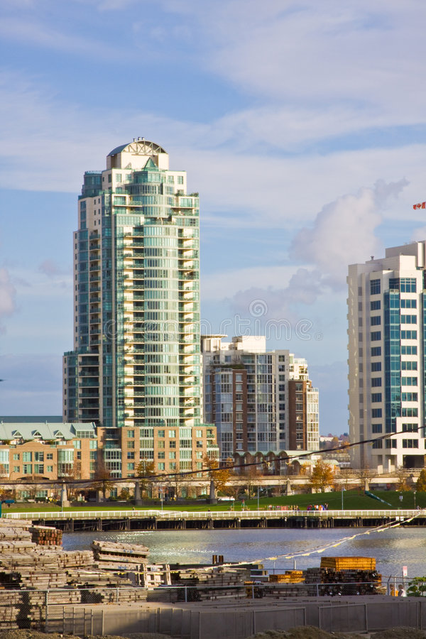 High Rise City Royalty Free Stock Photography