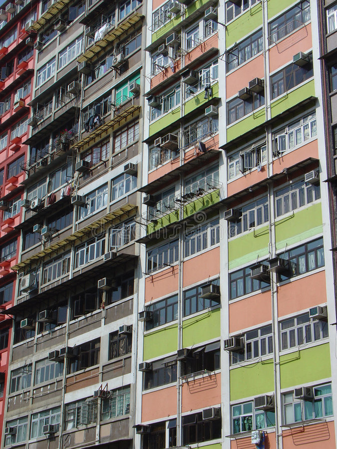 High Rise Flats royalty free stock image